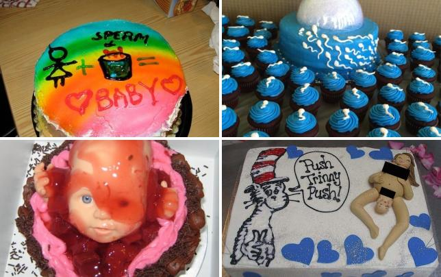29 horrifying baby shower cakes this is how it works