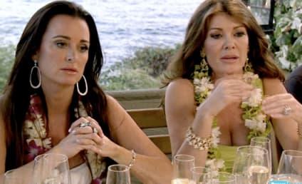 Lisa Vanderpump and Kyle Richards: Caught MOCKING Caitlyn Jenner?!
