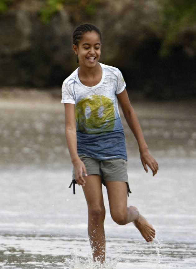 Malia Obama Photo