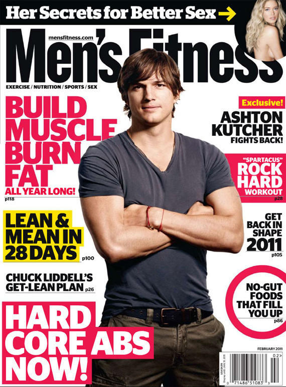 Men's Fitness Cover Boy