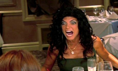 Teresa Giudice: Table Flipping