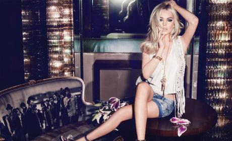 Lindsay Lohan Jag Jeans Ad