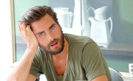 Kourtney Kardashian on Scott Disick: What an A-Hole!
