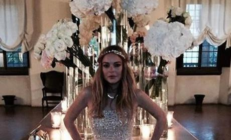 Lindsay Lohan Wedding Photo