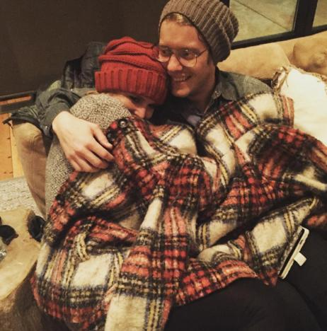 Miranda Lambert Snuggles With Anderson East