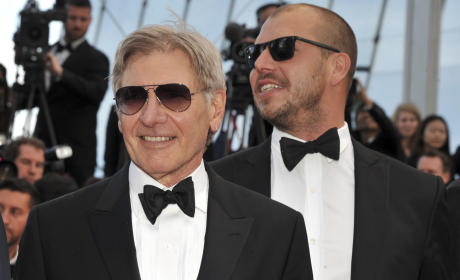 Harrison Ford Red Carpet Pic
