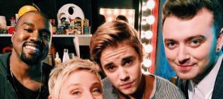 Amazing Ellen Selfie