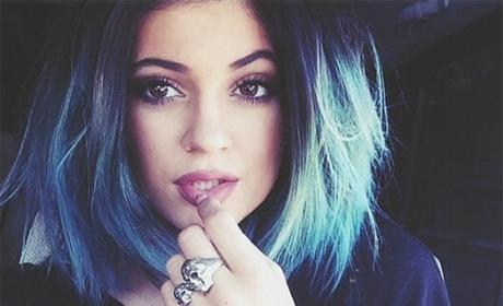 Kylie Jenner's Blue Hair