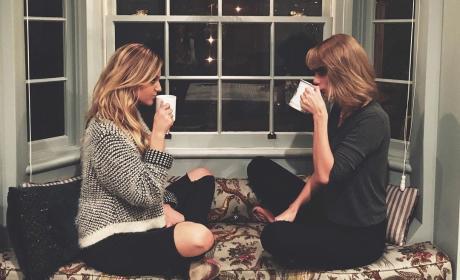 Kelsea Ballerini and Taylor Swift