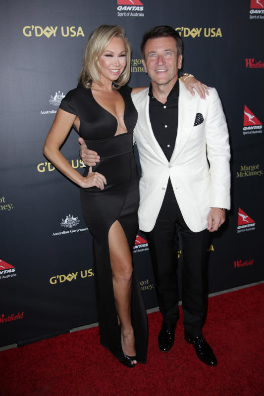 Kym Johnson & Robert Herjavec: 2016 G'Day Los Angeles Gala