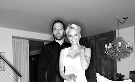 Pamela Anderson and Rick Salomon Photo