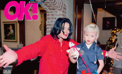 Prince Michael & Paris Jackson Photos: Unmasked! Adorable!