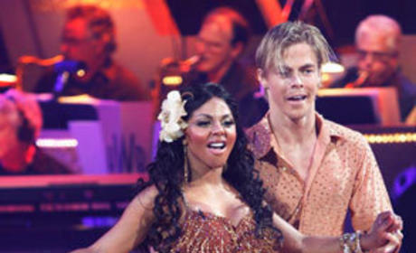 Lil Kim and Derek Hough Pic