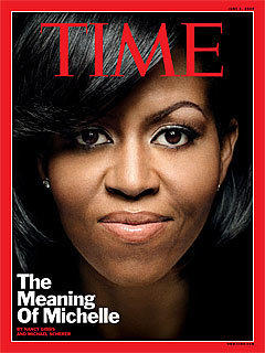 Michelle Obama Time Cover