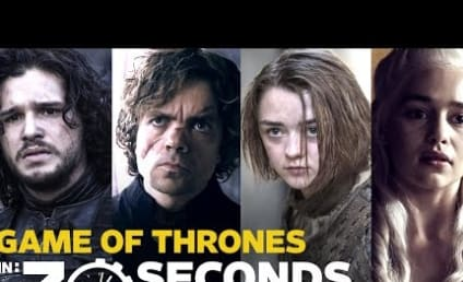 Game of Thrones Cast Recaps Series in 30 Seconds: Blood, Death, Boobs and...Fried Chicken?