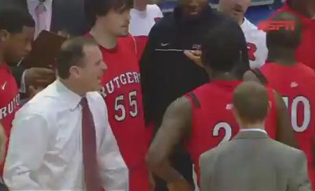 Mike Rice, Rutgers Basketball Coach, Filmed Abusing Players