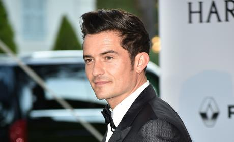Orlando Bloom in France