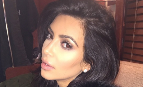 Kim Kardashian Side Eye