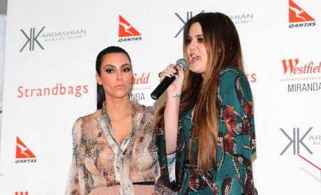 Kim and Khloe Down Under
