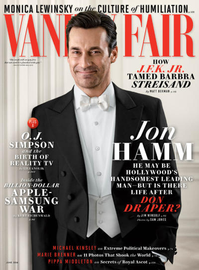Jon Hamm Vanity Fair Cover