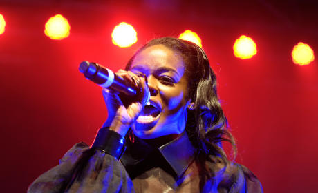 Azealia Banks in Glasgow