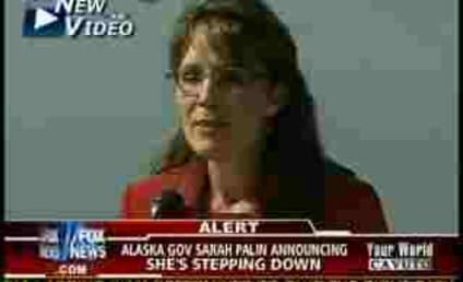 Sarah Palin to Resign as Alaska Governor