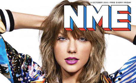 Taylor Swift NME Cover