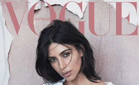 Kim Kardashian Strikes First Post-Baby Cover Pose: See It Here!