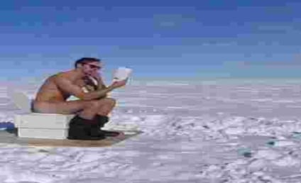 Alexander Skarsgård: Naked! In the South Pole! On a Toilet!
