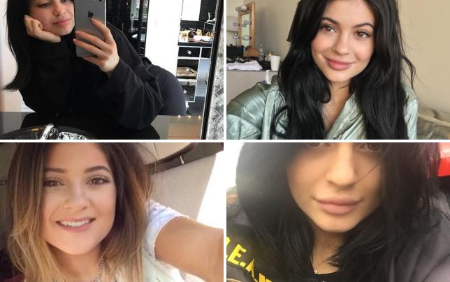 Kylie jenner goes makeup free