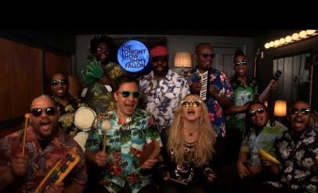 "Madonna and Jimmy Fallon Sing ""Holiday"""