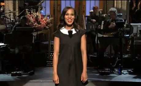 Kerry Washington SNL Opening Monologue