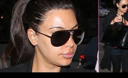 Kim Kardashian Screams at Paparazzi: Shut the Effin Door!