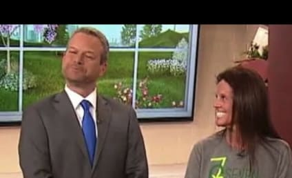 Salad Expert Asks TV Host If He Wants His Butthole Licked