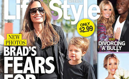 Brad Pitt: So Worried About Shiloh Being Bullied!