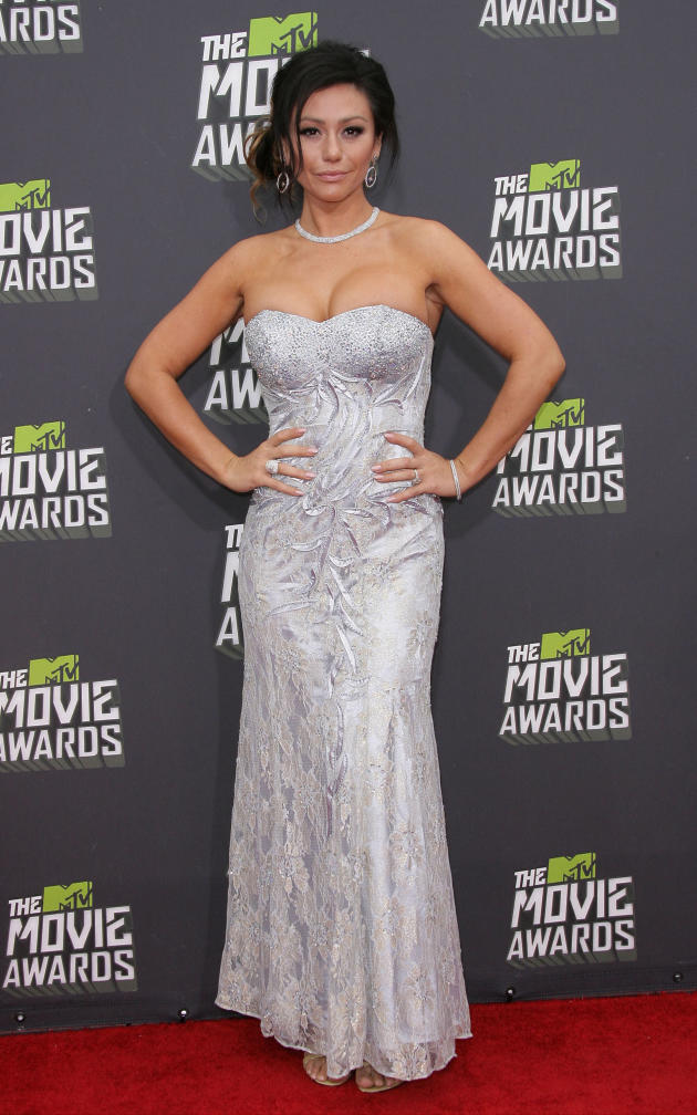 Jenni Farley at MTV Movie Awards