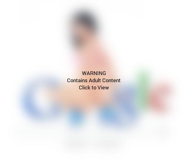 Nicki Minaj as the Google Logo