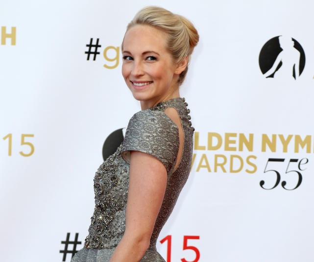 Candice accola smiles