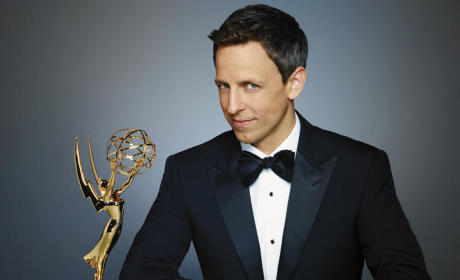 Seth Meyers Emmy Photo