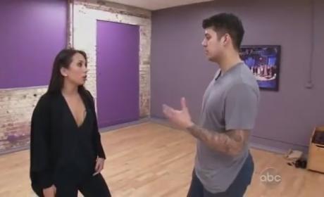 Rob Kardashian on Dancing With the Stars (Week 8 - Jive)