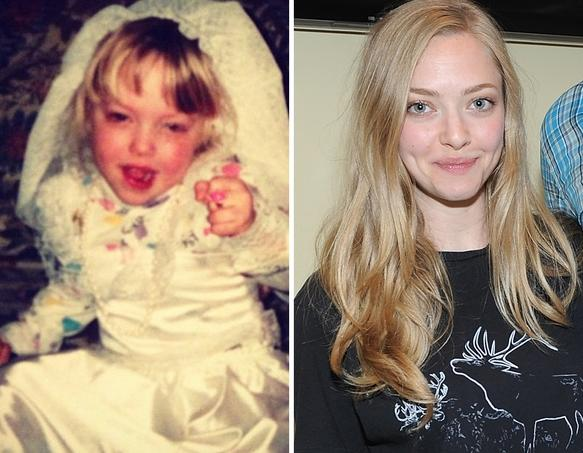 Amanda Seyfried as a Kid