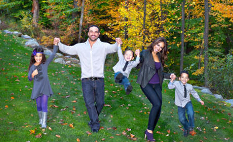 Melissa Gorga Christmas Card