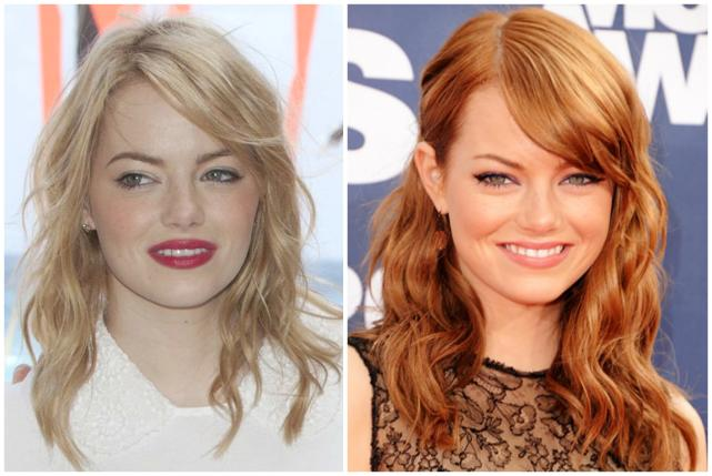 Remarkable, valuable emma stone blonde hair color have hit
