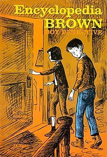 Encyclopedia Brown Cover