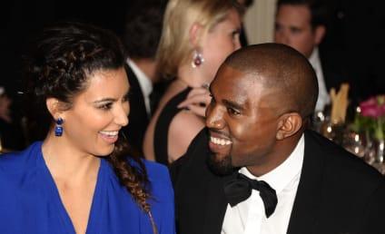 Kim Kardashian Laughs Off Engagement Rumors