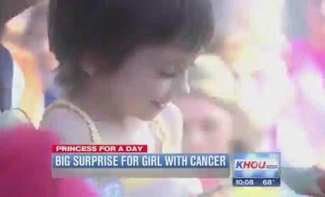 Claire Lankford, 5-Year-Old With Terminal Cancer, Gets Princess Parade From Texas Town