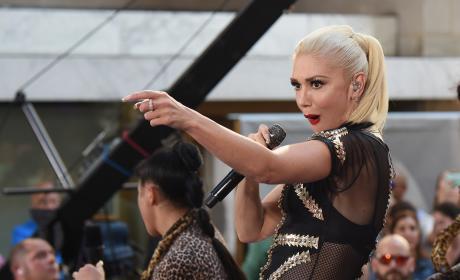 Gwen Stefani Today Show Performance 2016