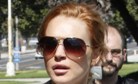 Lindsay Lohan to Sue Jewelry Store For Profiting Off Security Footage