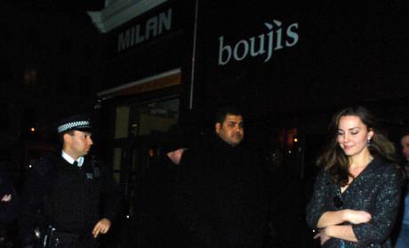 Kate Middleton Leaves Boujis In January 2007