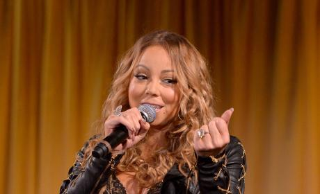 Mariah Carey and Her Ring